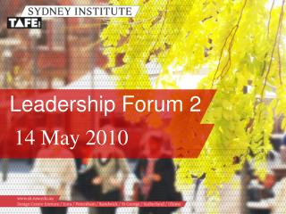 Leadership Forum 2