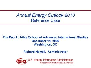 Annual Energy Outlook 2010 Reference Case