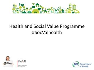 Health and Social Value Programme  # SocValhealth