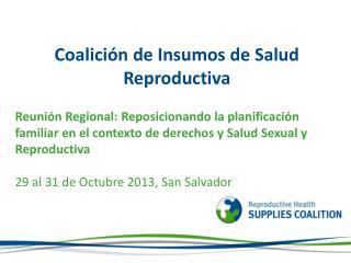 Coalición de Insumos de Salud Reproductiva