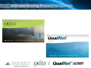 Add new Routing Protocol to QualNet