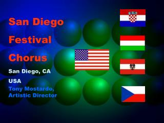 San Diego Festival Chorus San Diego, CA USA