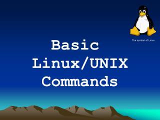 Basic  Linux/UNIX Commands