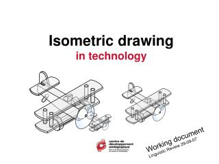 Isometric drawing  in technology