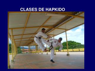 CLASES DE HAPKIDO