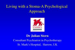 Living with a Stoma-A Psychological Approach