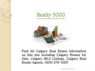 Calgary Real Estate Agent ? MLS Listings | Homes for sale Ca