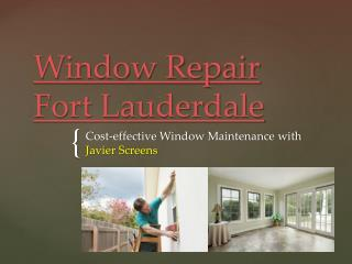 Sliding Glass Door Repair Fort Lauderdale