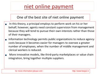 Some Simple Safety tips to niet online payment