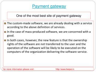 How to pick the best site of online payment  gateway