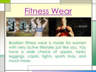 Dance Workout Clothes