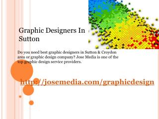 graphic designers in sutton