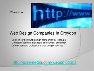 web design companies in croydon