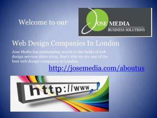 web design companies in london