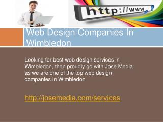 web design companies in wimbledon