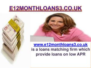 12 Month loans for needfull person far financial problem