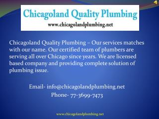 Finding A Professional Plumbing Service In Chicago