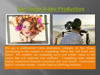Video Production Companies San Diego