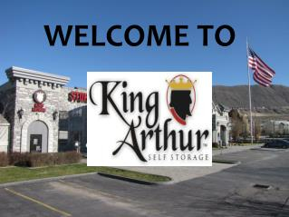 King Arthur Self Storage Draper and West Valley, Utah