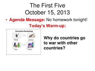 The First Five October 15, 2013
