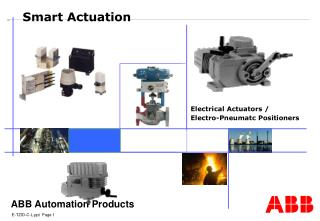 Electrical Actuators /  Electro-Pneumatc Positioners