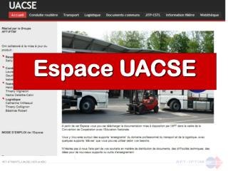 Espace UACSE