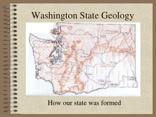 Washington State Geology