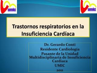 Trastornos  respiratorios  en  la  Insuficiencia  Cardíaca
