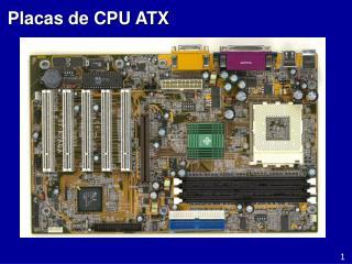 Placas de CPU ATX