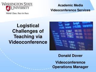 Academic Media Videoconference Services