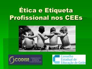 Ética e Etiqueta Profissional nos  CEEs