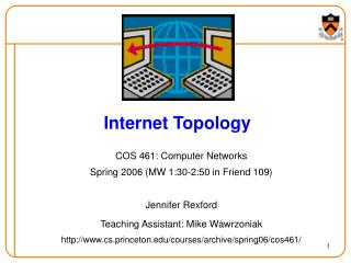 Internet Topology