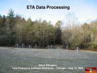 ETA Data Processing