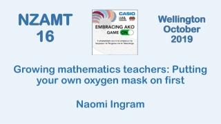 Thinking Mathematically and  Learning Mathematics Mathematically
