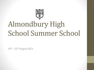 Almondbury High School Summer School