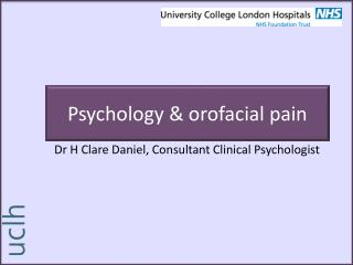 Psychology & orofacial pain