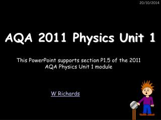 AQA 2011 Physics Unit 1