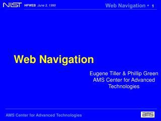 Web Navigation