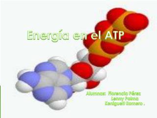 Energía  en  el ATP