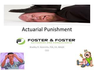 Actuarial Punishment