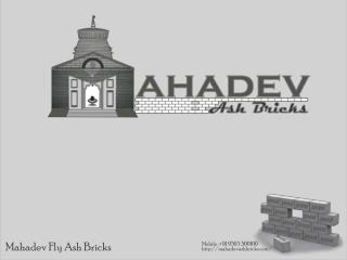 Mahadev Fly Ash Bricks