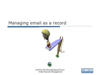 Managing email as a record
