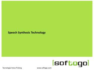 Speech Synthesis Technology