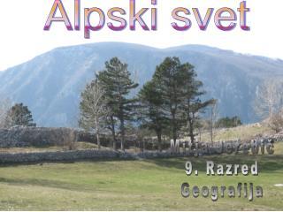 Alpski svet