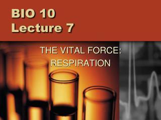BIO 10  Lecture 7