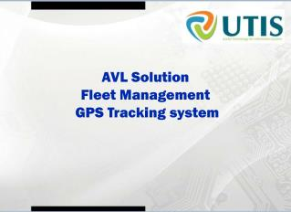 AVL Solution Fleet Management  GPS Tracking system