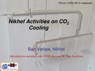 Nikhef Activities on CO 2  Cooling