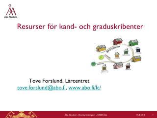 Resurser för kand- och graduskribenter