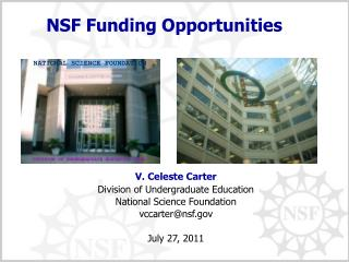 NSF Funding Opportunities