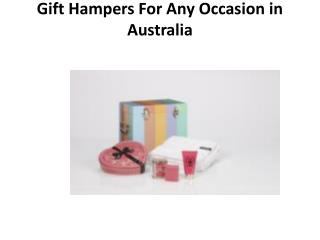 Pamper Hampers